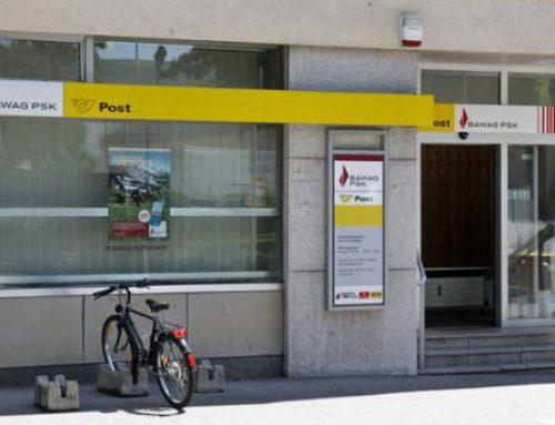 Besuch der neu renovierten Postfiliale Guntramsdorf