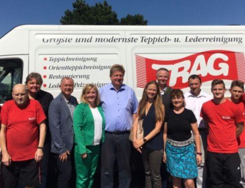 NÖAAB Guntramsdorf besucht die größte Teppichreinigung Österreichs