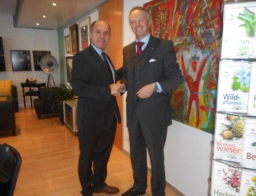 Treffen mit NÖAAB Landesobmann Landeshauptmannstellvertreter Mag. Wolfgang Sobotka in St.Pölten