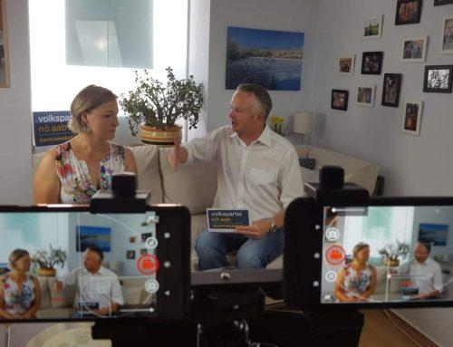 """TV Interview: Sommer, Sonne, Sonnenschein – der Guntramsdorfer ÖAAB hat nun seinen eigenen """"TV Sender"""""""
