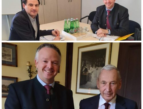 "Der ""Herr Professor"", der ""Herr Generalsekretär"" – die NÖAAB Guntramsdorf Ideen"