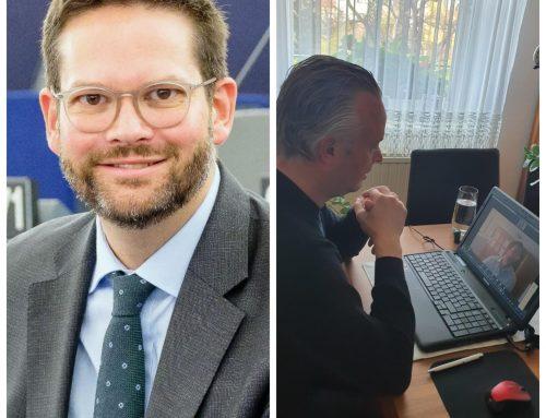 Im Gespräch über die Corona Krise mit Europa Abgeordneten Mag. Lukas Mandl