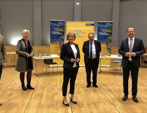 Gespräche mit Landeshauptfrau Mag. Johanna Mikl-Leitner