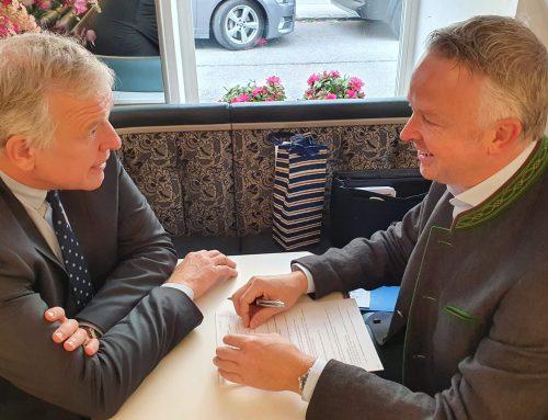 Treffen mit Landesrat Martin Eichtinger